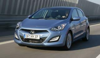 Hyundai i30 front tracking
