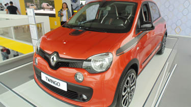 Renault Twingo GT - Goodwood front quarter