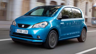 SEAT Mii Electric - front driving