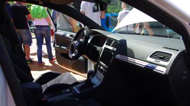 Volkswagen Golf GTI First Decade Worthersee reveal cabin