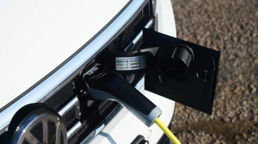 Volkswagen Passat GTE Estate - charging