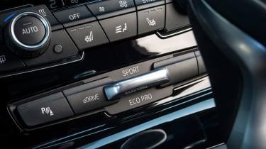BMW 2 Series Active Tourer eDrive - switches