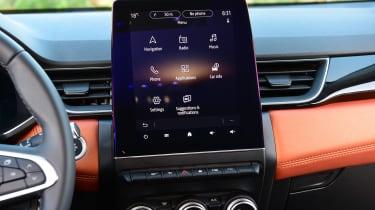 Renault Captur - infotainment