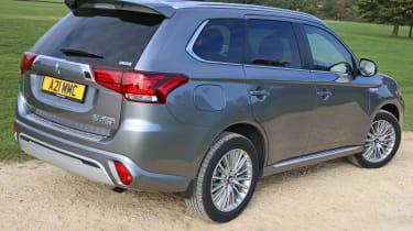New Mitsubishi Outlander PHEV rear