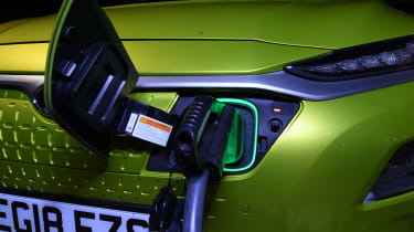 Hyundai Kona charging