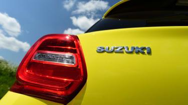 Suzuki Swift Sport badge