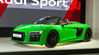 Audi R8 Spyder V10 Plus - Goodwood reveal static