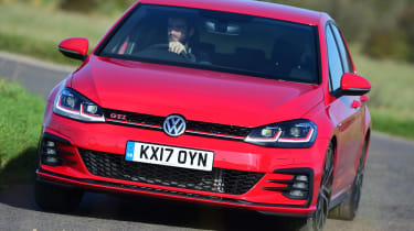 Volkswagen Golf GTI Performance Pack - front cornering