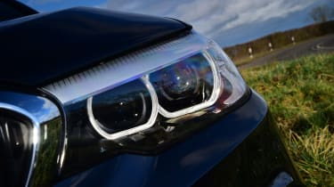 BMW 5 Series - front light