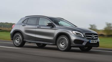 Mercedes GLA - front