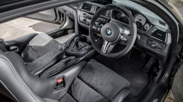 BMW M4 GTS UK 2016 - interior