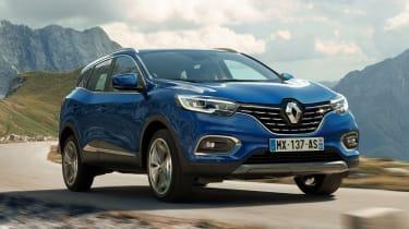 Renault Kadjar facelift - front