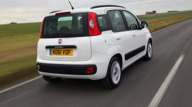 Fiat Panda rear tracking