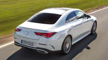 Mercedes CLA - rear tracking