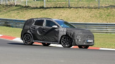 Hyundai Kona N spy - front
