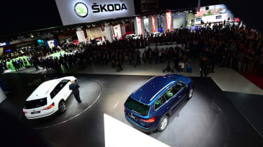 Paris Motor Show 2016 - Skoda