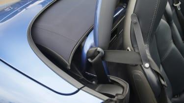 Used Porsche Boxster - seat belt