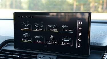 Audi Q5 - screen
