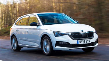 Skoda Scala Long termer - front tracking