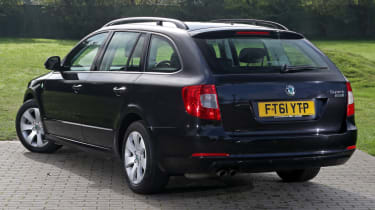 Used Skoda Superb rear