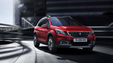 Peugeot 2008 2016 - front cornering