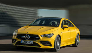 Mercedes-AMG CLA 35 - front