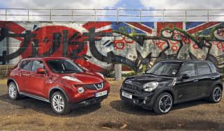 Nissan Juke Turbo vs MINI Countryman