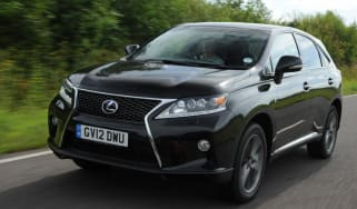 Used Lexus RX - front