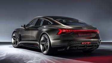 Audi e-tron GT concept - rear static studio