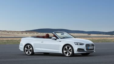 New Audi A5 Cabriolet 2017 white