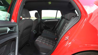 Volkswagen Golf GTI - rear seats