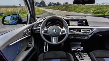 BMW M135i 2019 cabin