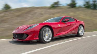 Ferrari 812 Superfast - front action