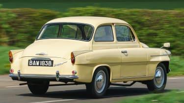 Original Skoda Octavia - rear cornering
