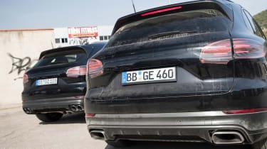 Porsche Cayenne prototype - rear statics