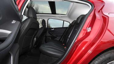 Ford Focus Vignale - rear seats