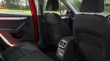 Skoda Octavia Estate 2017 facelift rear seats