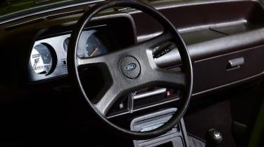 Ford Fiesta Mk1 - interior 2