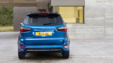 Ford EcoSport - full rear static