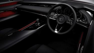 Mazda Kai concept - cabin