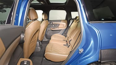 New MINI Countryman - rear seats
