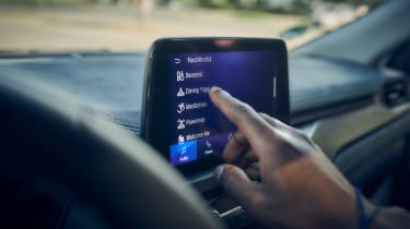 Ford Mindfulness Concept Car - infotainment