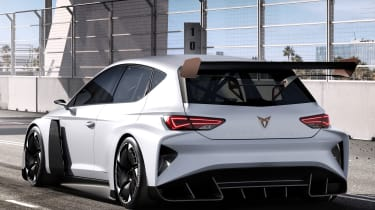 Cupra Leon e-Racer concept - rear