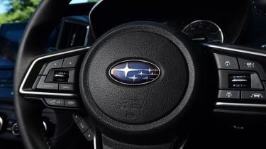 Subaru Impreza - steering wheel