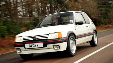 It might have been made from tin foil, but the 205 GTI was a masterpiece of design that just oozed class and style. There's just the decision of which sweet-revving engine to choose, 1.6- or 1.9-litre. And the fact that prices are far from cheap these day