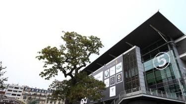 Paris Motor Show 2018 - exhibition hall
