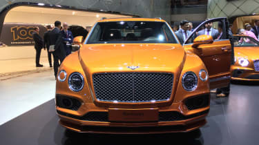 Bentley Bentayga Speed forward