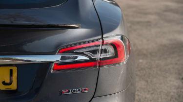 Tesla Model S P100D - rear light detail