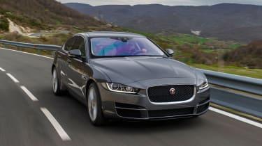 Jaguar XE Portfolio - front action