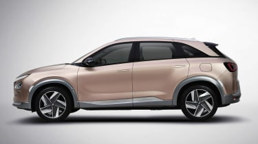 Hyundai FCEV - side